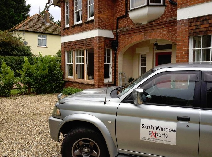 Sash Windows Experts Van