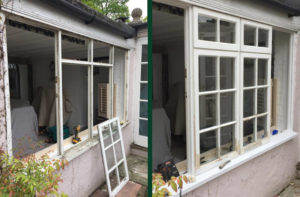 Sash Window Sill Repairs - Project Image